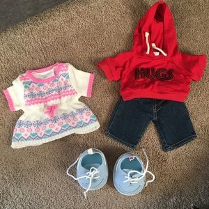 Other - Build-A-Bear Clothing Bundle